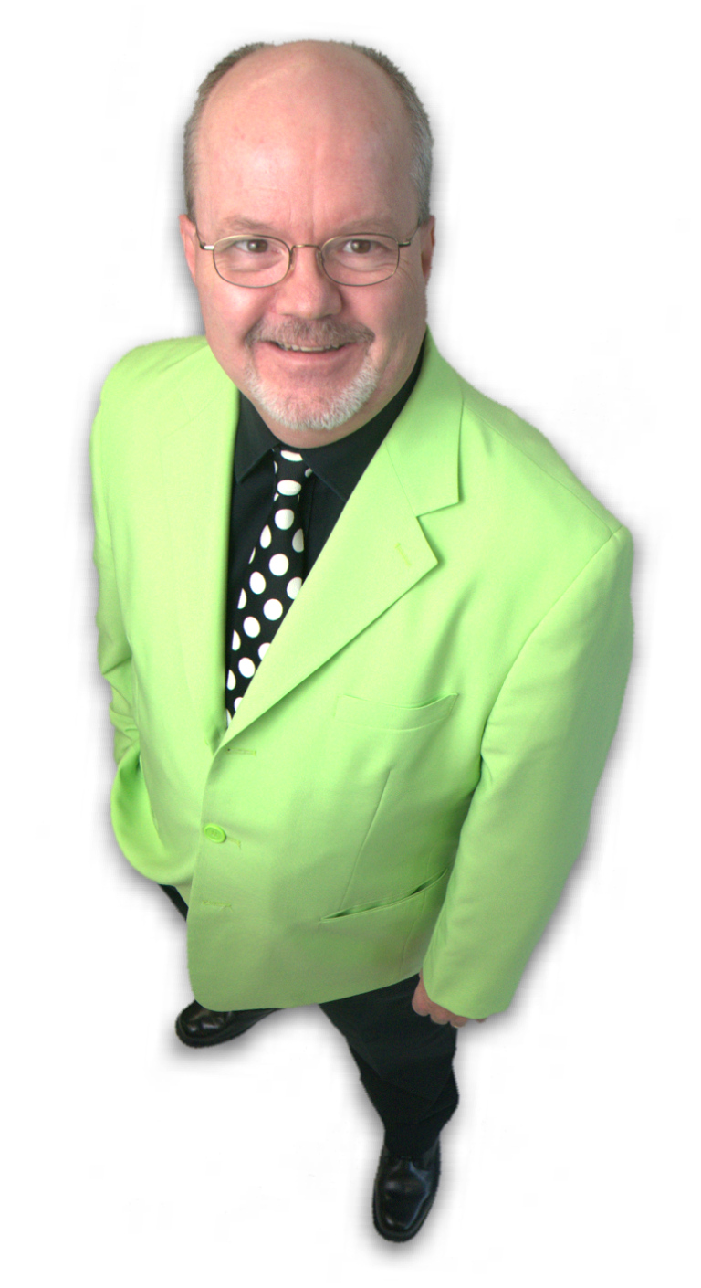 peter mennie signature green jacket magician