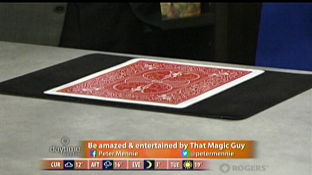 magician on television lond ontario